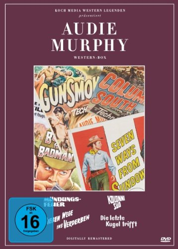 Audie Murphy Collection [4 DVDs]
