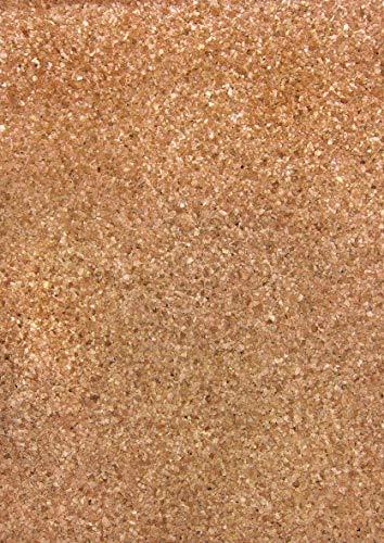 Rayher 63022000 Kork-Papier: Granulat, selbstklebend, 20,5x28cm, SB-Bt
