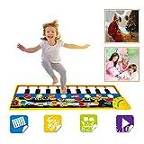 SGDD Music Piano Mat for Kids, Keyboard Piano Play Mat Music Dance Mat