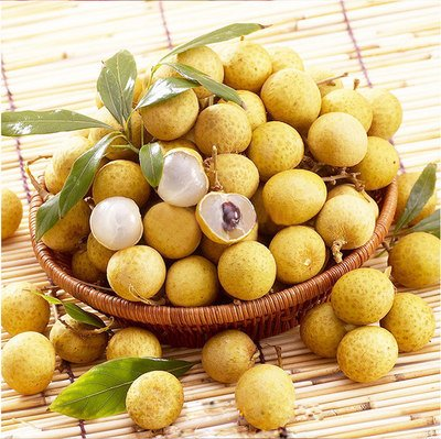 10pcs/sac exotique Longan Graines bio Heirloom Succulent yeux Bonsai arbres fruitiers en pot Plantons pour Mini Garden Facile à cultiver