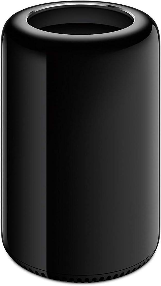 Apple Mac Pro Desktop Computer - Intel Xeon E5 3.5GHz 6-Core CPU, 64GB RAM, 256GB SSD, ME253LL/A (Renewed)