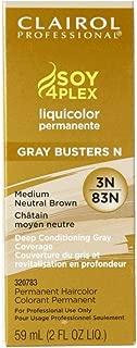 Clairol Professional Liquicolor 3N/83N Medium Neutral Brown, 2 oz (Pack of 2)