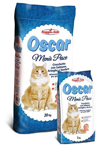 Nutrena Oscar Gatto Menu Pesce kg. 3