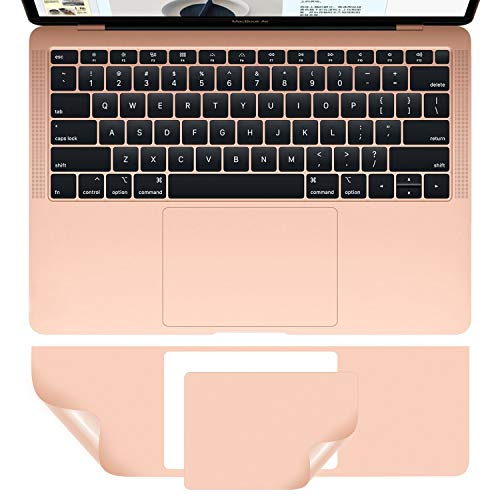 MacBook Air A1932 Palm Rest Skin, CASEBUY PalmRest Cover with Trackpad Protector for MacBook Air 13-inch Model A1932 2019 2018 Protective Vinyl Decal Cover Sticker, Rose Gold