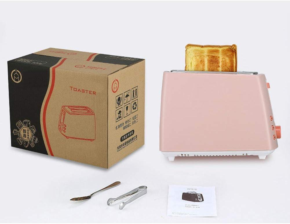 Elitte Machine à Pain, Mini Grille-Pain Four Électrique Cuisson Cuisine Machine à café avec 2 Plaques Antiadhésives Yellow