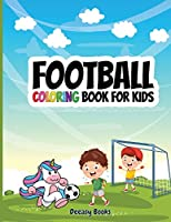 Football Coloring Book For Kids