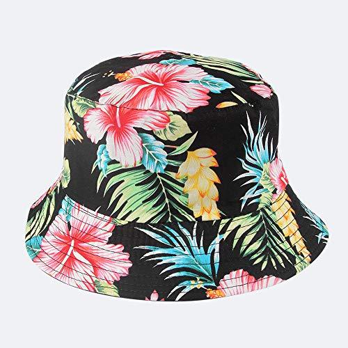 AOQW Sombrero De Pescador Moda Reversible Negro Blanco Patrón De Vaca Sombreros De Cubo Gorras De Pescador para Mujeres Gorras Summer-Cow_China