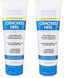 Advanced Clinicals Cracked Heel Cream For Dry Feet, Rough Spots, And Calluses. (Two - 8oz)
