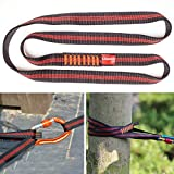 Boaton 48'' Climbing Utility Cord, Create Anchor Systems, Tree Climbing Gear, Rigging Tool for Tree Work, Rock...