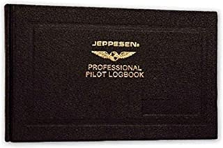 JEPPESEN PROFESSIONAL LOGBOOK - BROWN