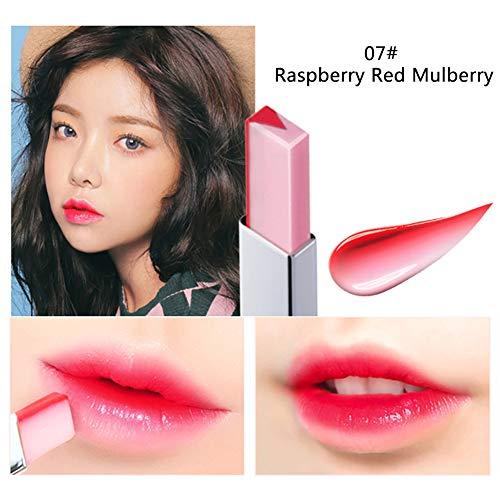 Allbesta Two Tones Gradient Lippenstift Moisturizing Waterproof Lip Balm Lip Bar Makeup Lipstick for Women Girls