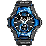 Men's Sports Watch, Fashion Military...