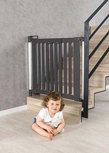 reer Türgitter und Treppengitter Trend zum Schrauben, modernes Design, Holz, stabiler Halt, Durchgangsbreite 76-106cm