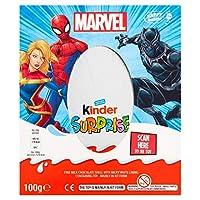 Kinder Surprise Marvel Easter Chocolate Egg 100g キンダーサプライズマーベルイースターチョコレートエッグ100g