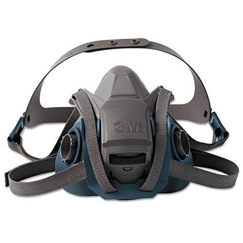 3M 6503QL - 6503 Media Máscara 6500 QL Grande (silicona) (10 unidades), Certificado de seguridad EN