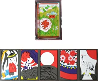 Japanese Playing Cards Game Hanafuda Four seasons Black by Oishi Tengudo