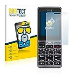BROTECT 2X Entspiegelungs-Schutzfolie kompatibel mit Doro PhoneEasy 509 Bildschirmschutz-Folie Matt, Anti-Reflex, Anti-Fingerprint