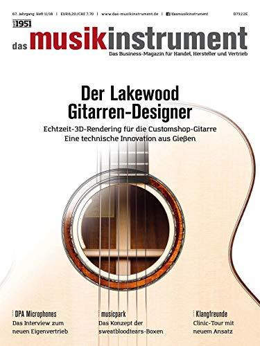 Der Lakewood Gitarren Designer - das musikinstrument - Das Business Magazin für die Musikindustrie