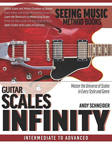 Compare Textbook Prices for Guitar Scales Infinity: Master the Universe of Scales In Every Style and Genre  ISBN 9798683825126 by Schneider, Andy