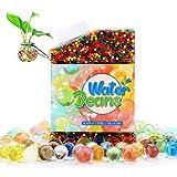 FOGARI- Bolas de Gel de Agua Colores,25,000 pcs 270g Colores Mezclados Perlas de Agua,Bolas de Agua por Decoración Planta, Jardín, Salón,Bolas de Agua para Niños