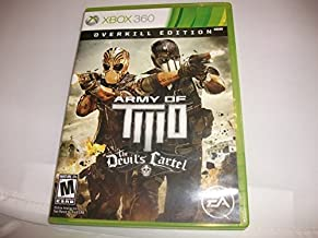 Army of TWO The Devil's Cartel - Xbox 360 Overkill Edition