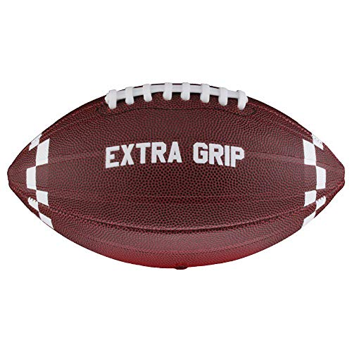 Full Force American Football Junior Trainings- und Freizeitball EXTRA Grip, Size 7