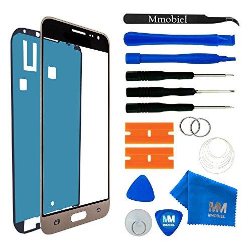 MMOBIEL Écran Tactile Compatible avec Samsung Galaxy J3 SM J320 (2016) Séries (Or) avec Kit d'outils Inclus