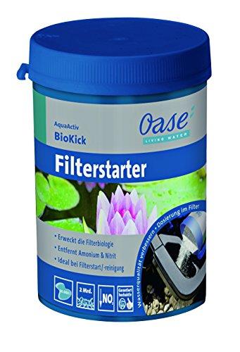Oase AquaActiv BioKick 200 ml Wasseraufbereiter, Silber