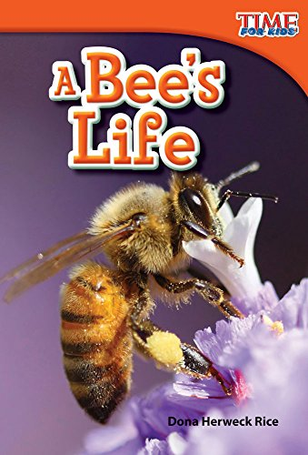 Teacher Created Materials - TIME For Kids Informational Text: A Bee's Life - Grade 1 - Guided Reading Level E