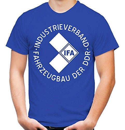 IFA – Camiseta | DDR | Este | Fun | M1 azul XL