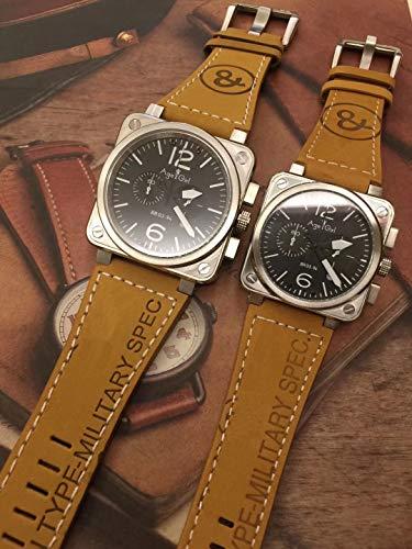 PLKNVT Marca Nuevos Hombres Mujeres Reloj Cronógrafo