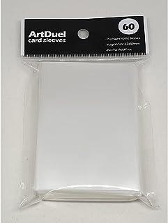 ArtDuel Yugioh Card Sleeves Deck Protector Mini Size Shield - Medium Hard Clear