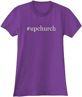 The Town Butler #Upchurch - A Soft & Comfortable Hashtag Women's Junior Cut T-Shirt