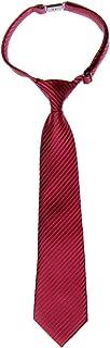 (リトリーズ) RETREEZ 織物 作り結び式男児用ネクタイ ストライプ - 多色あり