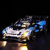 LYCH Juego de iluminación LED para coche de carreras Lego Technic McLaren Senna GTR, compatible con la técnica Lego 42123, sin juego Lego.