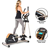 Exerpeutic 2500 Bluetooth Smart Technology Exposed Flywheel Elliptical Trainer...