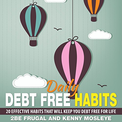 Daily Debt Free Habits audiobook cover art