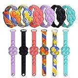 [6 Pcs] Push Pop Bracelet Fidget Toy Fidget...