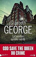 La punition qu'elle mérite d'Elizabeth GEORGE