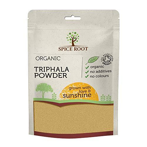 Bio Triphala Pulver 200g (Bibhitaki, Haritaki, Amalaki) - Zertifiziertes Bio, Premium-Qualität | Hervorragend für die Verdauung