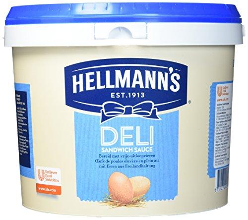 Hellmann's Deli Sandwich Sauce (mit Eiern aus Freilandhaltung) 1er Pack (1 x 5 kg)