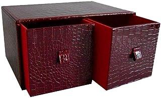 Gabinete de almacenamiento de CD para juegos, caja de CD de madera para escritorio de Office Clubhouse Club - Soporte de e...