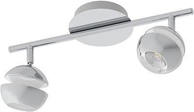 Eglo NoCITO 1 - Foco (acero, 3,3 W, cromo), color blanco