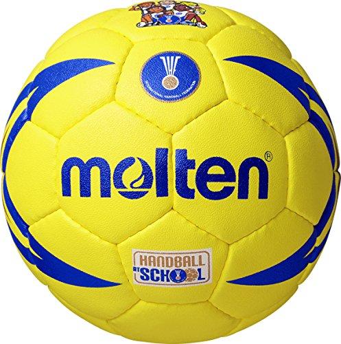Molten Kinder Handball - H0X1300-I , Mehrfarbig (Gelb/Blau) - Einheitsgröße