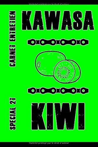 Carnet d'entretien moto Kawasaki...