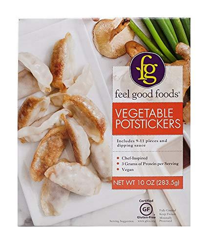Feel Good Foods Potstickers, Vegetable, 10 Ounce