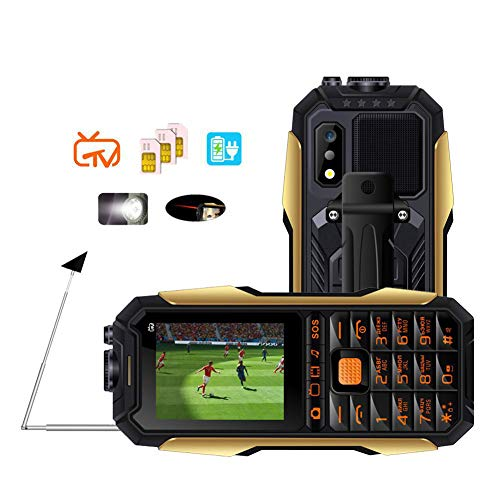 NSSZ Tres Anti-Militar Militar eléctrico Viejo teléfono móvil Vieja máquina al Aire Libre Gratis TV TV Carga Tesoro Larga Espera