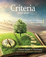 Criteria 2019-2020: Discernment and Discourse Reader and Guide