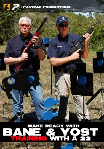 Panteao Productions: Make Ready with Bane and Yost Training with a .22 - PMR047 - Smith & Wesson - IDPA - Competitive Shooting - Rimfire - Handgun Training - DVD