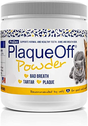ProDen PlaqueOff Powder  Supports Normal, Healthy Teeth, Gums, and Breath Odor in Pets  420 g